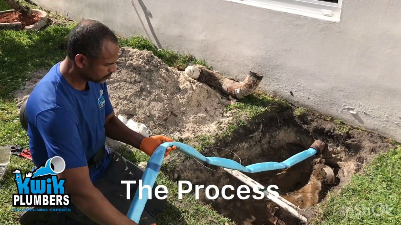 Pipe Lining Project In Hollywood Florida