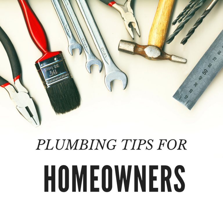 Plumbing Tips for Every Homeowner