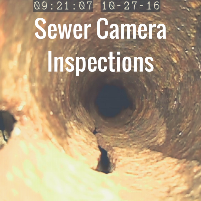 Sewer Camera Inspections